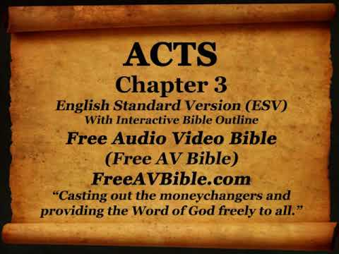 Bible Book 44. Acts Complete 1-28, English Standard Version (ESV) Read Along Bible