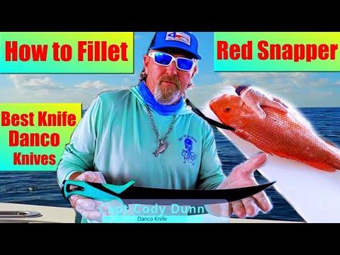 Best Fillet Knife | Cleaning Red Snapper