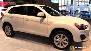 2015 Mitsubishi Outlander Sport ES 2WD - Exterior and Interior Walkaround - 2015 Chicago Auto Show