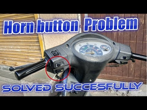 Horn button problem of activa,pleasure,Jupiter Duet solved successfully