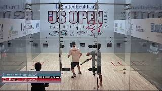 2018 US Open: Round of 16s: D. Da La Rosa vs C. Pratt