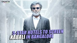 Kabali To Be Screened In 5-Star Hotels @ ₹1,300 Per Ticket
