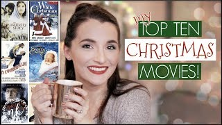 MY TOP 10 CHRISTMAS MOVIES! 🎄 🎥 |  Natalie Bennett