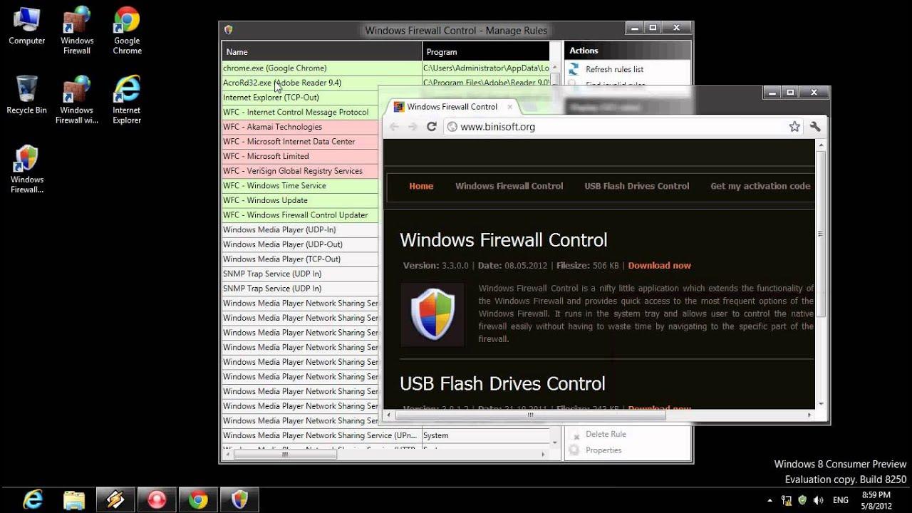 Hasil gambar untuk Windows Firewall Control