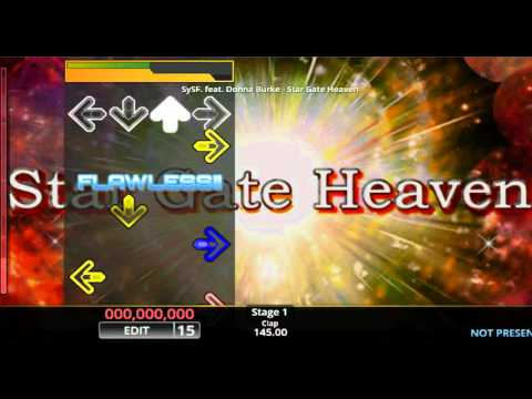 [DDR EDIT] Star Gate Heaven / SySF. feat. Donna Burke (Lv. 15)