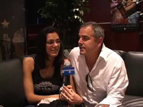 Adrianne Curry & Christopher Knight-Westwood One: Backstage - 2008 Grammys