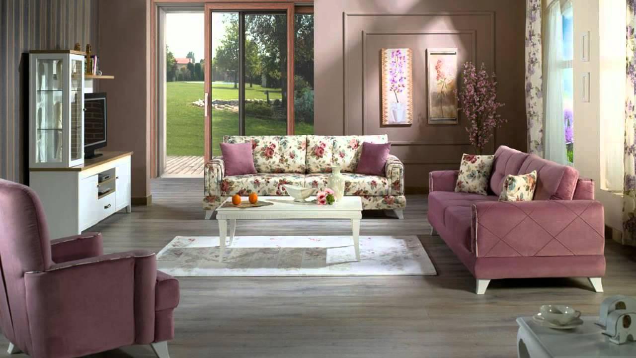 Viva Living Room Set by Istikbal Furniture - YouTube