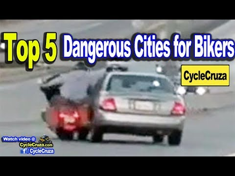Top 5 DANGEROUS CITIES For Motorcycle Riders | MotoVlog