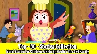 Top 50 Best Stories - Story Collection For Kids 2016 - Moral Stories for Children By The Owl Family