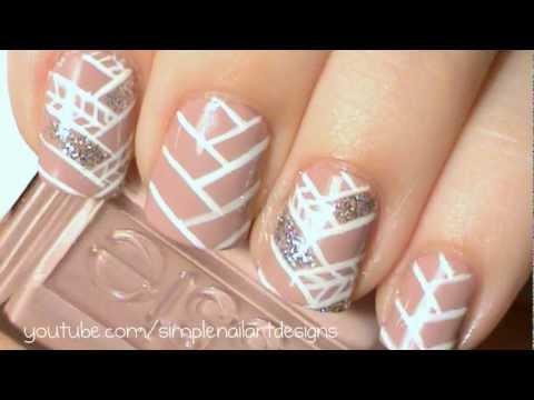 Fishtail Braid Nail Art Tutorial