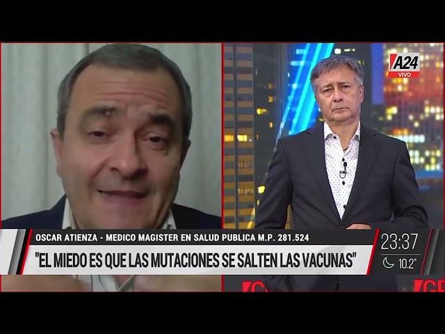 Oscar Atienza en GPS - Inmunidad Rebaño y nuevas variantes   16.07