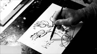 Tegning med pen og tusch - How to draw with pen and Indian ink