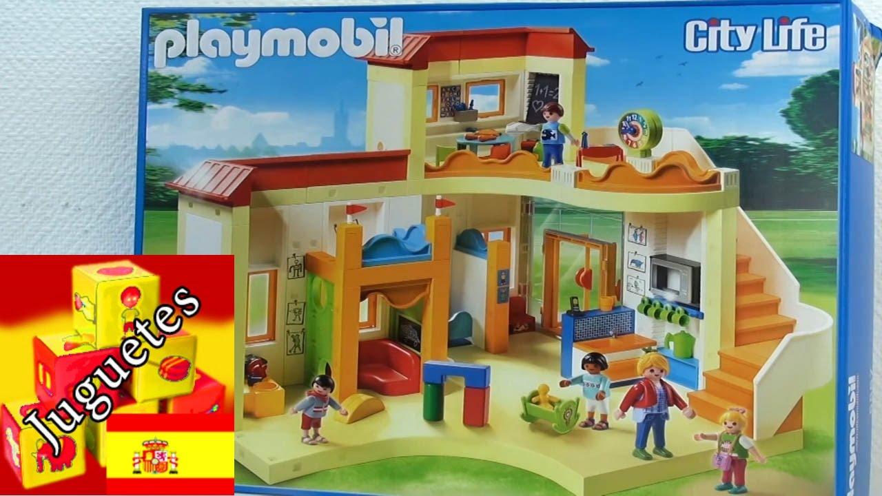 montaje guarder a playmobil city life youtube