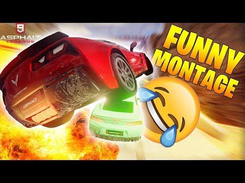 Asphalt 9 | FUNNY MONTAGE (Asphalt 9 Funny Moments,Thug Life,Bugs,Glitches,Funny Compilation) #1
