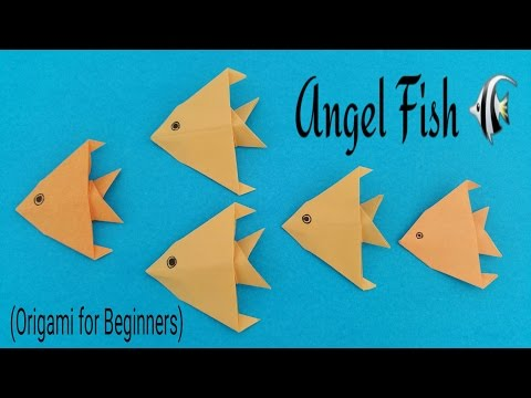 Easy Origami Fish DIY - Easy Origami for Kids (Very Easy) - Summer ... | 360x480