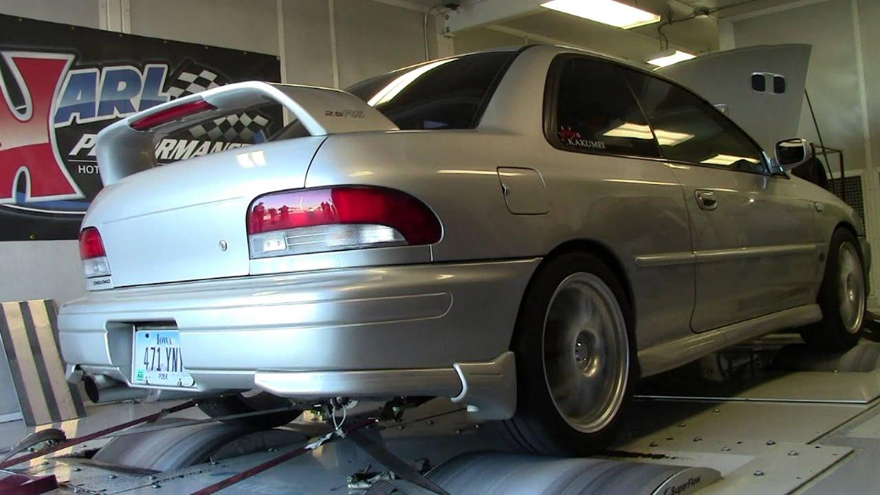 99 Impreza RS Dyno
