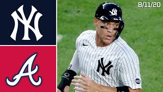 New York Yankees Vs. Atlanta Braves | Game Highlights | 8/11/20