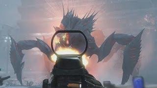 Nightfall Extinction Xbox One Gameplay Walkthrough Boss Ending - Call of Duty Ghosts
