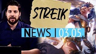 LoL-Entwickler drohen Riot Games mit Streik - News
