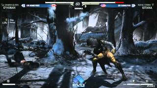 Evo 2015 - MKX: CR Honeybee vs CR Sonicfox