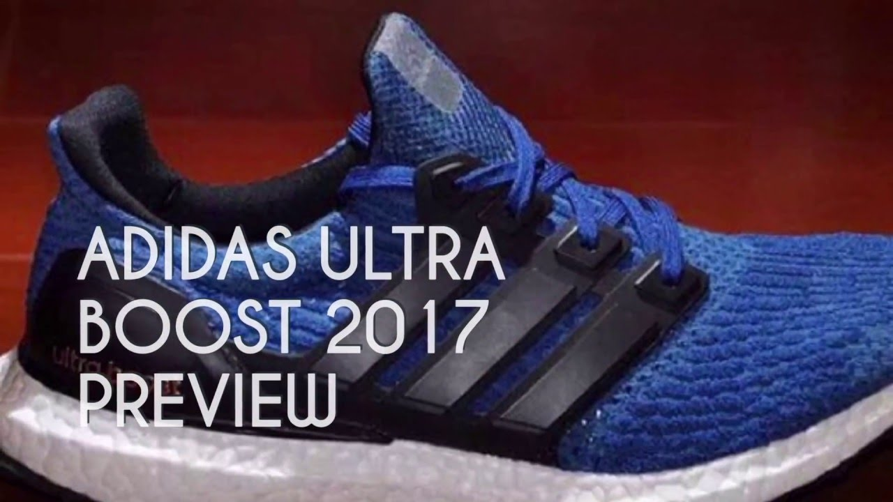 Adidas Ultra Boost Blue 2017