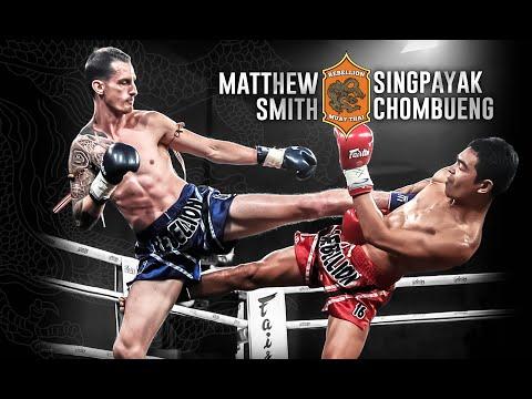 Rebellion Muaythai 16: Singpayak vs Matthew Smith - FULL FIGHT