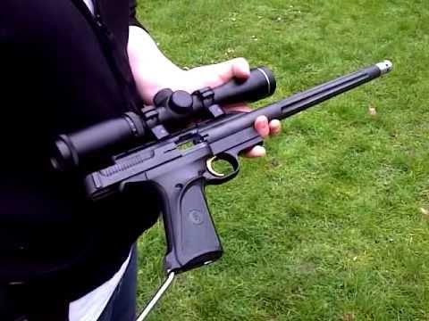 Browning Buckmark .22 Long Barrel Pistol.