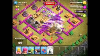 Hot get three easy stars on Cold as Ice on Clash of Clans