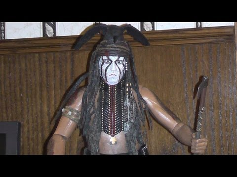 DISNEY'S THE LONE RANGER 1/4 SCALE ACTION FIGURE TONTO TOY REVIEW