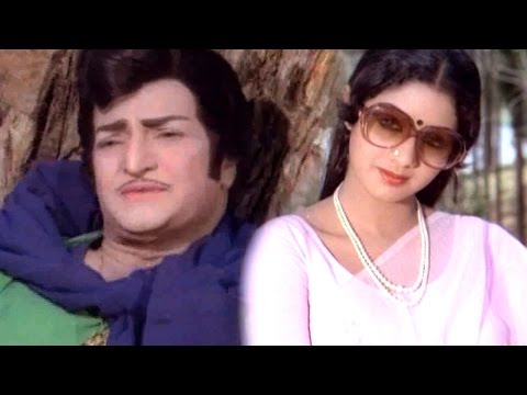 Andhaala Hrudayamaa Full Video Song    Anuraga Devatha Movie    N.T.R, Sridevi