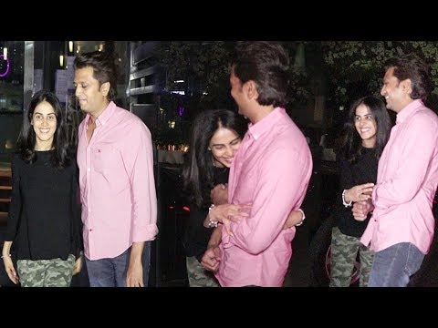 DRUNK Riteish Deshmukh & Wife Genelia D'Souza's CUTE Moments After Party