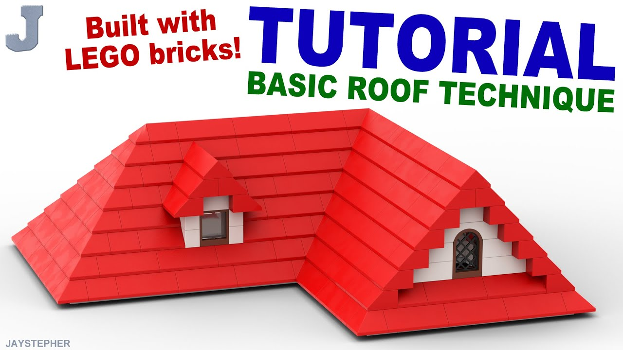 Tutorial Creating A Lego Roof Youtube