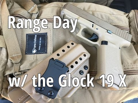 Repeat Glock 19X & Sig P365 Range Day w/ Harry's Holsters by
