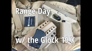 Glock 19X & Sig P365 Range Day w/ Harry's Holsters