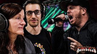 """Hip-Hop Head AND Mom's FIRST TIME Hearing HATEBREED - """"Looking Down the Barrel of Today"""" (REACTION!)"""