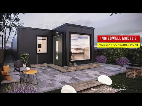 IndieDwell Model 6: Idaho's Modular Shipping Container Home