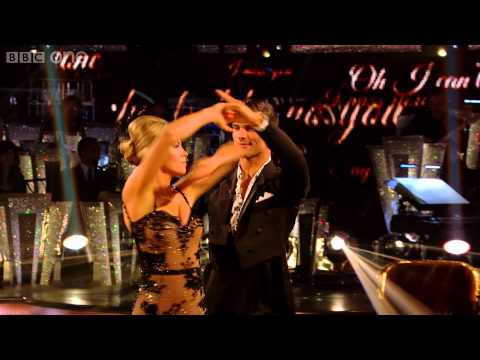 Abbey Clancy & Aljaz Foxtrot to 'Dear Darlin'  - Strictly Come Dancing: 2013 - BBC One