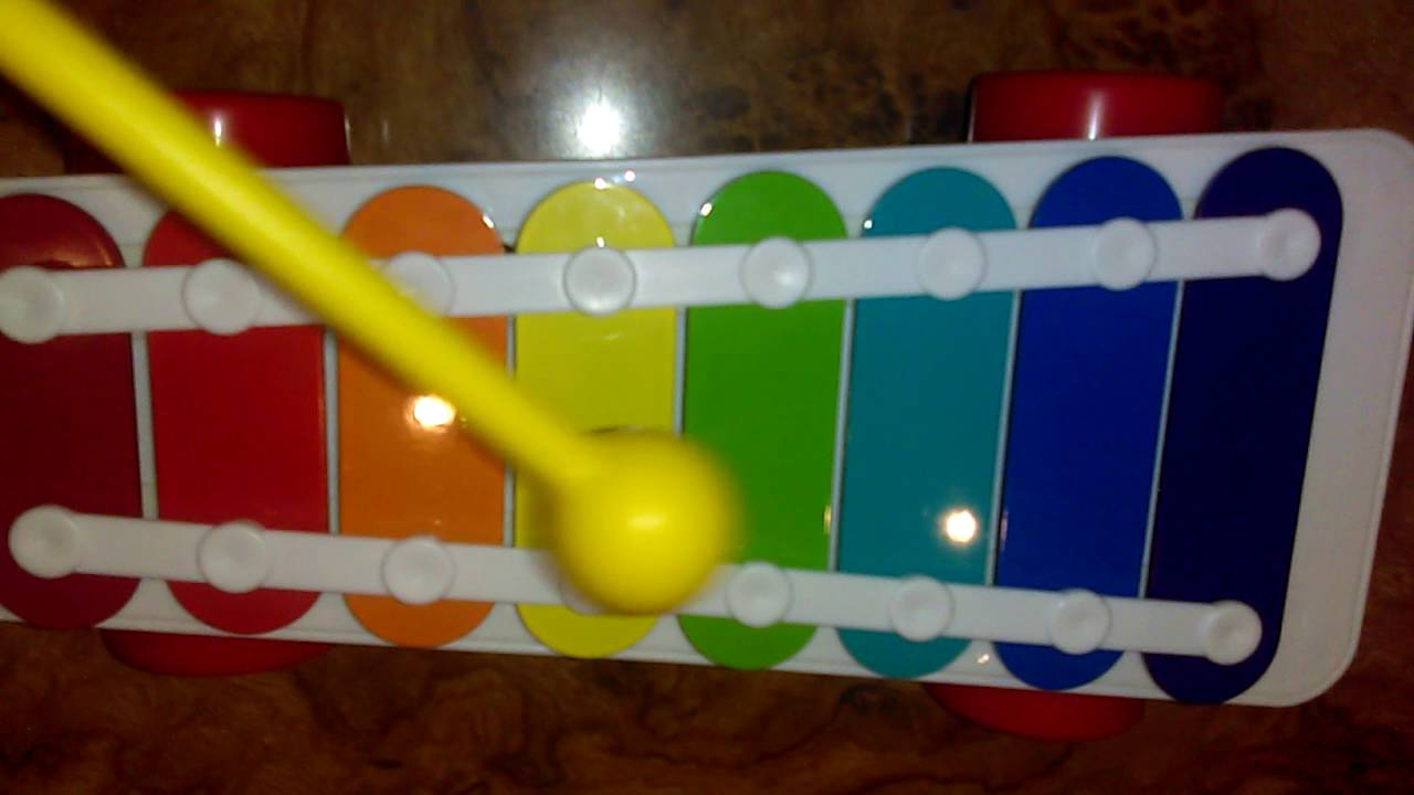 Star Wars imperial March song Fisher price xylophone - YouTube