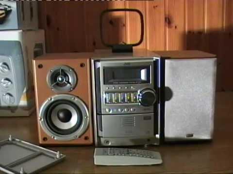 Stereo JVC UX-S59 - Presentazione e funzionamento