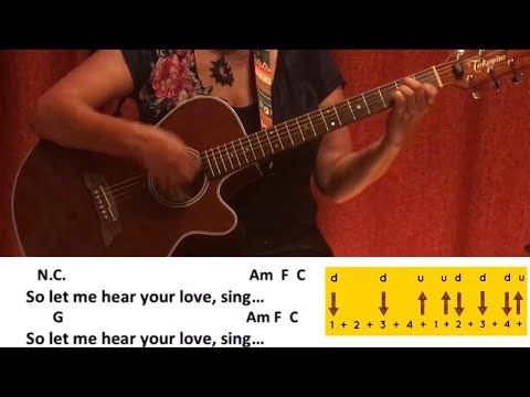 Melody – Lost Frequencies ft Blunt / Guitar/Tutorial/Cover/Chords/Lyrics/easy