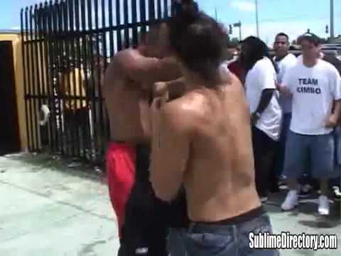 "Kimbo Students"" Young Jorge""& Jose vs Ganster Ray ..."