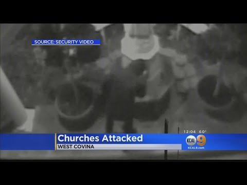 2 West Covina Churches Vandalized In Possible Hate Crime
