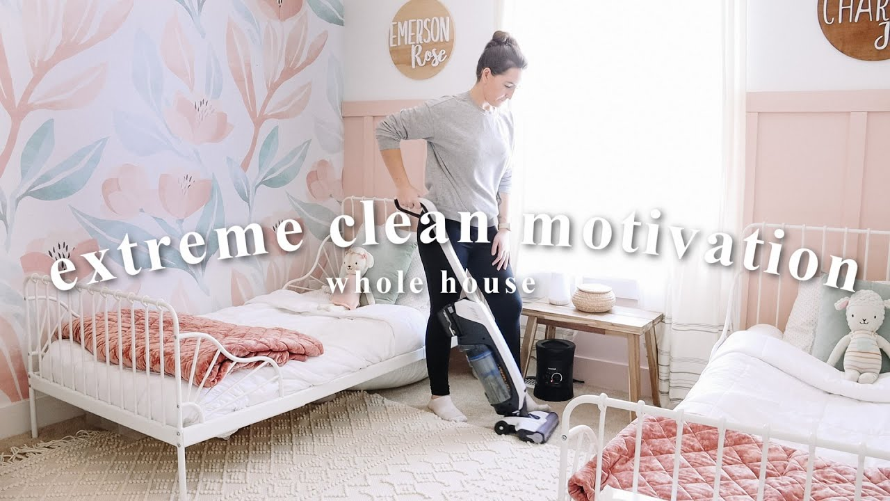 NEW CLEAN WITH ME 2021 | WHOLE HOUSE Clean and Organize Motivation