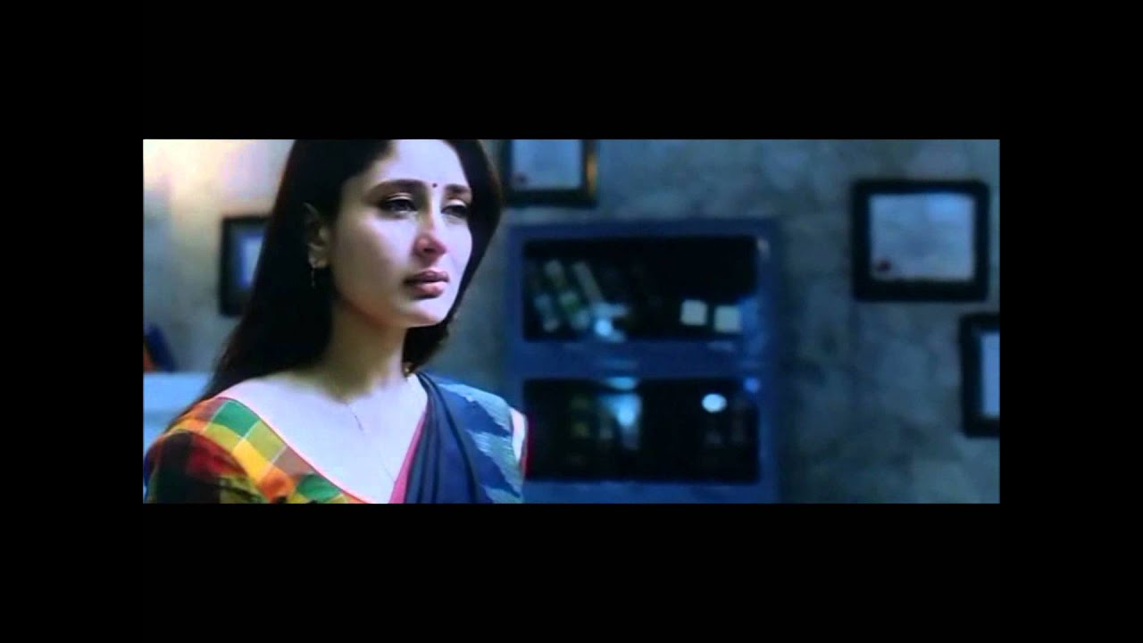 A beautiful scene from Kyon Ki - Kareena looks so pretty when sad ...