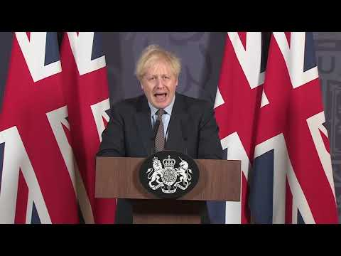 LIVE: UK Prime Minister Boris Johnson gives a statement on Brexit