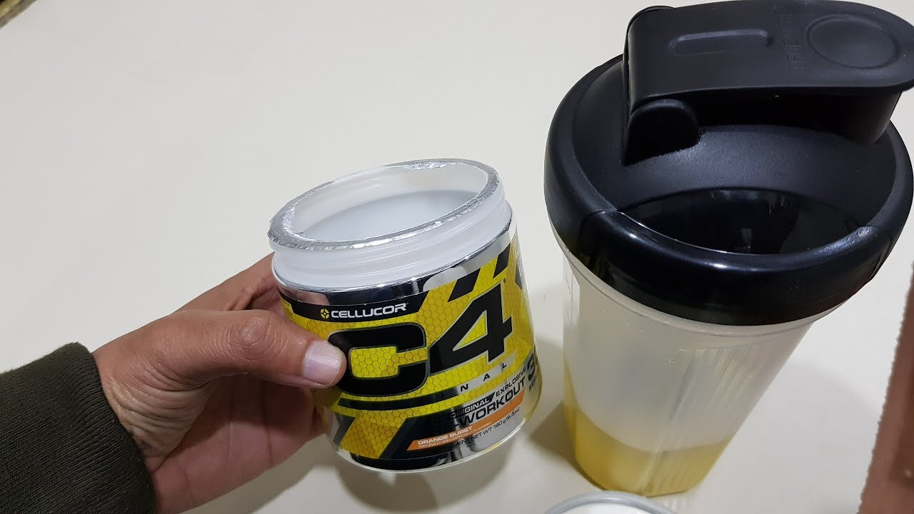 Download Cellucor C4 Pre workout Energy Drink  || C4 Pre Workout Use and Review || In Hindi