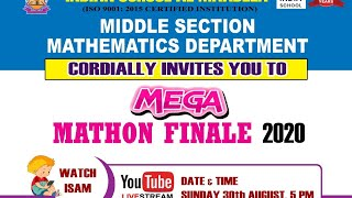 Mega Mathon Finale 2020