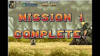 Metal Slug Advance -Gba Mission 1