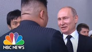 Kim Jong Un, Vladimir Putin Hold Unprecedented Summit Amid Stalled Nuclear Talks | NBC News