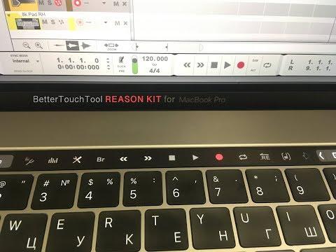 ReasonKit BTT (MacBook ToucBar Reason Propellerhead)